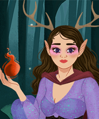 Dark Fae Maker Dress Up Game