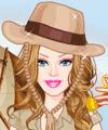 Barbie Treasure Hunter Dress Up Game