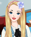 Alice in Wonderland Today Dress Up Game