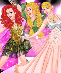 Dancing Festival at College Dress Up Game