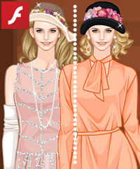 Magic in the Moonlight Dress Up Game