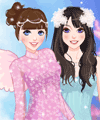 Moonlight Fairy Dress Up Game
