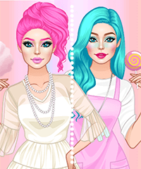 Cotton Candy Make Up Game