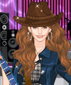 Sweet Country Singer Dress Up Game