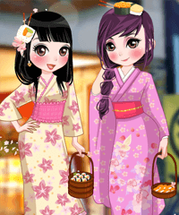 The Sushi Place Dress Up Game