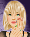 Word Nail Design Make Up Game