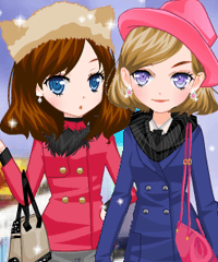 Tokyo Winter Dress Up Game