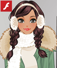 Keeping Warm Dress Up Game