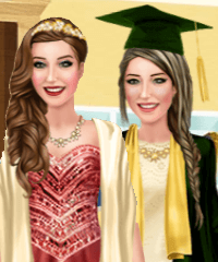 Ariana Graduation Dress Up Game