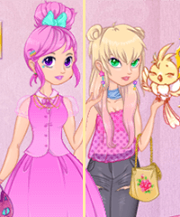 The Lovely Princess Dress Up Game