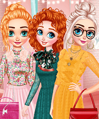 Princesses Manicure Experts Dress Up Game