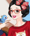 Snow White Now Today Dress Up Game
