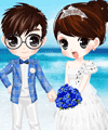 French Riviera Wedding Dress Up Game