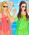 Sizzling Summer Dress Up Game