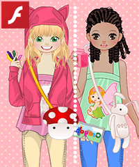 My Childhood Dress Up Game