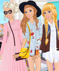 Barbie City Break Fashion Dress Up Game