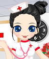 Sweet Little Nurse Dress Up Game