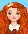 Merida Today Dress Up Game