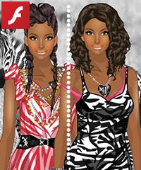 Dress Up Zebra Princess