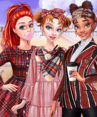 Back to School Princess Preppy Style Dress Up Game