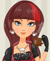 Cerise Hood Hat-Tastic Party Dress Up Game