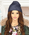 Winter Wardrobe Dress Up Game