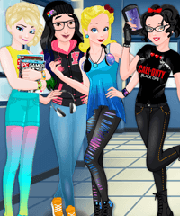 Princess Gamers Dress Up Game