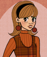 60s Autumn Fashion Maker Game