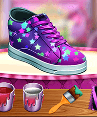 Fashion Shoe Designer Design Game