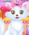 Princess Belle Kitten Caring Game