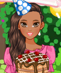 Birthday Party Cakes Dress Up Game