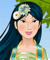 Mulan Dress Up Game