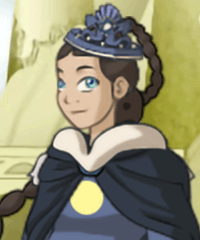 Waterbender Katara Dress Up Game