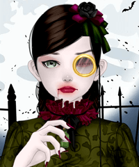 spooky doll creator game - Dress Up Games For Halloween