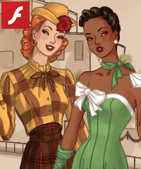 40s Fashion Dress Up Game