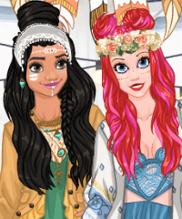 princess Style Guide 2017 Coachella Dress Up Game