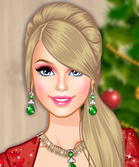 Barbie Christmas Glam Make Up Game