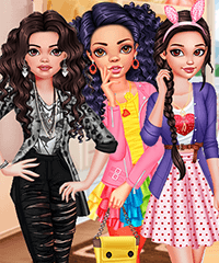 Hollywood Stars Wedding Time Dress Up Game