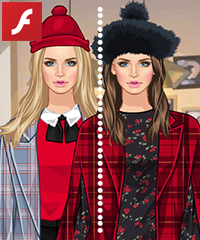 Plaid Items Dress Up Game