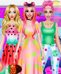 BFF Fruity Fashion Dress Up Games