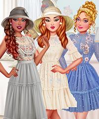 Etheral Tiktok Princesses Dress Up Game
