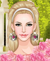 Flowers on Dresses Dress Up Game