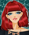 Red Bob Hairstyles Makeover Game