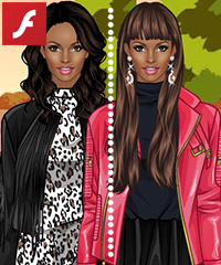 Leather Jackets Dress Up Game