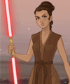 Sci-Fi Warrior 2 Star Wars Dress Up Game