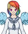 Rainbow Dash Dress Up Game