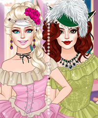 Victorian Barbie Dress Up Game