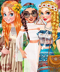 Lovely Boho Hair Hairstyling Game