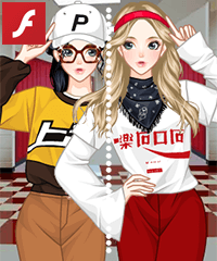 Chinese School Style Anime Dress Up Game