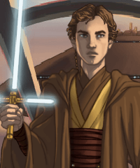 Star Wars Male Warrior Dress Up Game